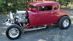 Traditional Hot Rods | Photo of 1931 Ford Five Window California Old School High Boy Hot Rod