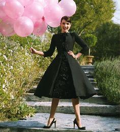 audrey hepburn style prom dress