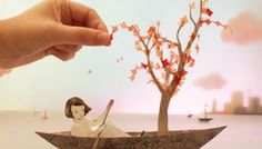 Elly MacKay | Theater Clouds and paper love