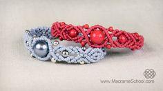 Musical Big Bead Bracelet Tutorial in Vintage Style #musical