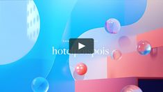 Hotel Poispois Brand Image 台北泡泡飯店品牌影片 on Vimeo Motion Graphs, Motion Logo, Cinema 4d Tutorial, 3d Video, Surrealism Photography, Web Design, Creative Video, Cool Animations, Sound Design