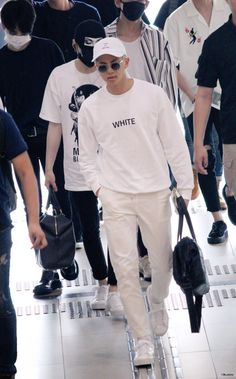 BTS Rap Monster airport fashion at Gimpo Airport [160711]