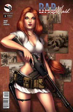 BAR Maid #3 (Cover A) #Zenescope #BARMaid (Cover Artist: Billy Tucci & Sabine Rich)