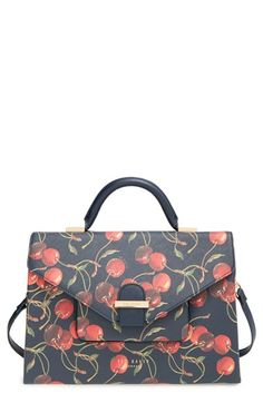 Ted Baker London 'Cheerful Cherry' Print Tote available at #Nordstrom