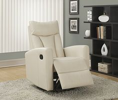 Monarch Specialties Ivory Bonded Leather Swivel Glider Recliner  http://www.furnituressale.com/monarch-specialties-ivory-bonded-leather-swivel-glider-recliner-3/