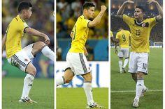 ¡Gracias James Rodríguez!  #YoCreo #Colombia paso a Cuartos de Final del #MundialBrasil2014  #SelecciónColombia #Brasil2014