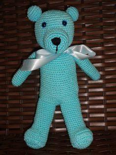 urso de crochê