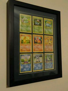 Yes! Pokemon art for a babys room (: