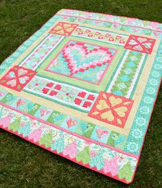 Hearts Delight quilt pattern by Amanda Murphy Designs