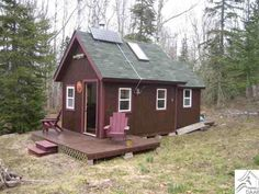 Tiny Little Cabin With 10 Acres