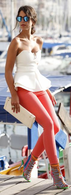 Color Blocking Chic Outfit Idea by 1sillaparamibolso