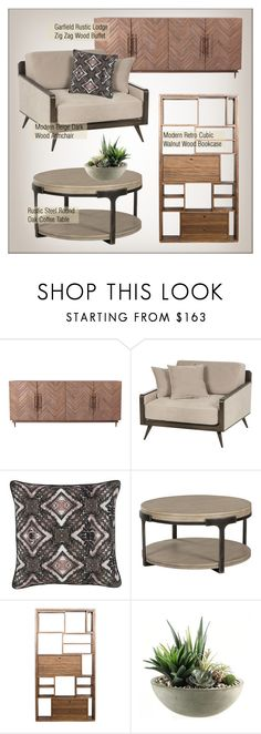 """""""Living Room Decor"""" by kathykuohome ❤ liked on Polyvore featuring interior, interiors, interior design, home, home decor, interior decorating, Home Decorators Collection, living room, Home and homedecor"""