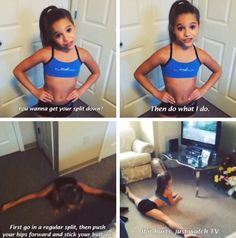 Mackenzie ziegler- this is how I'm getting my split back...