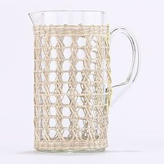 Seagrass-wrapped pitcher, $12.99, Cost Plus World Market