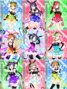 Cyber Card Set| Love Live! School Idol Project