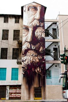INO – System Of A Fraud New Mural @ Athens, Greece