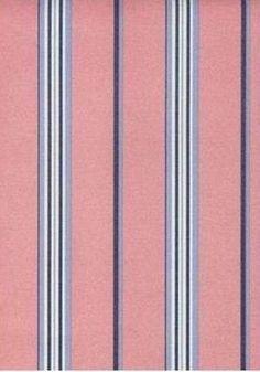 RALPH LAUREN Wallpaper -  PINK BLUE WHITE STRIPE   Sweet!