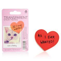 Transparent Heart Notes