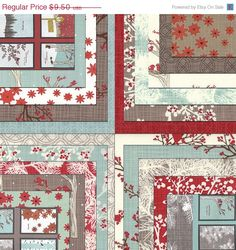 SALE WINTER'S Lane by Kate & Birdie Paper Co for by FabricSweets, $8.55