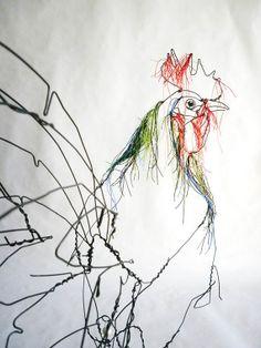 David Olivera Wire Sculpture