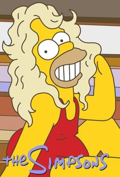 The Simpsons Farrah Faucett HOMER! Hilarious