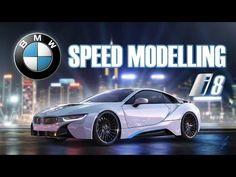 3D Timelapse: BMW i8 - Autodesk Maya - YouTube