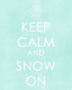 Keep Clam and Snow on <3