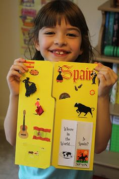 Spark and All - FIAR - The Story of Ferdinand - Spain Lapbook