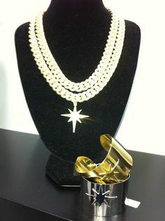 Necklace and bracelets ...
