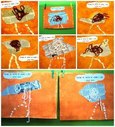 Plastiquem Drawing People, Art Education, Collage, Drawings, 2013, Kid Art, School, Artists, Art Kids