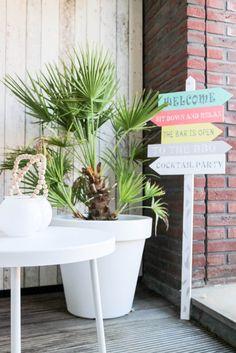 An Ibiza style terrace | at mi casa
