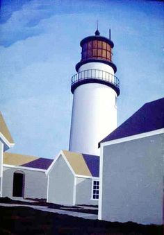 Highland Light by George Ault