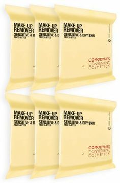 Comodynes MKR-S Make-Up Remover Towelettes for Sensitive Skin (120 Pack) by Comodynes. $38.70. Perfect for dry and sensitive skin types. Thanks to the soothing and nourishing properties of Oats, this formula is perfect for dry and sensitive skin types. These facial cleansing towelettes have the following effects in a single swipe: removes make-up, tones, & moisturizes.
