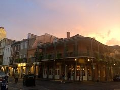 Sunset in New Orleans/ July 2015