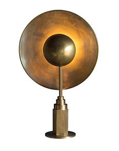 Studio Twenty Seven Metropolis Lamp Jan Garncarek Limited Edition 25 Solid Brass H 31.9″  W 20.5″  D 9.8″ Made in Poland