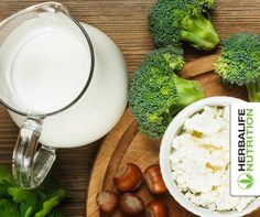 What do broccoli, leafy greens, and nonfat and low-fat dairy products have in common? They're all great sources of calcium, which can help keep your bones strong. #WomensHealth #NWHW