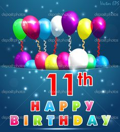 depositphotos_49042755-stock-illustration-11-year-happy-birthday-card.jpg (927×1024)