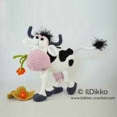 Moo-na Lisa amigurumi pattern by IlDikko