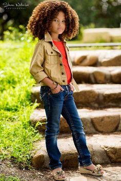 ADORable little girl! #kids #children #fashionshoot