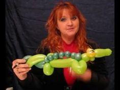 How to Make Balloon Animals | Alligator| St. Charles Balloon Artist | Chicago Balloon
