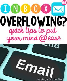 Keep your email under control with these easy tips.