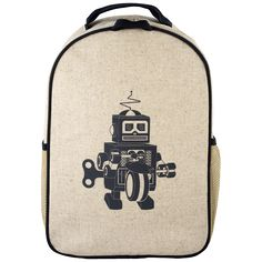 Grey Robot Toddler Backpack | SoYoung USA