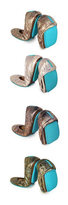 Pretty shiny @Tieks by Gavrieli by Gavrieli by Gavrieli for your holiday soiree! Your feet will thank you!