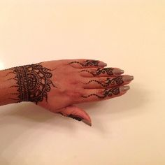 Henna done by me