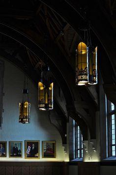 Low light; Feinstone Lounge, Sullivan Hall; Temple University; Philadelphia, Pennsylvania, USA. September 2011.