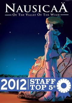Nausicaa of the Valley of the Wind by Hayao Miyazaki (Powell's Books Staff Picks Top 5s)