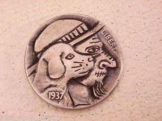 Carved-HOBO-NICKEL-Jasper-Smells-Dinner-Folk-Art-OHNS-1304