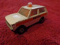 "Vint MATCHBOX LESNEY ""Rolamatics"" - No.20 RANGE ROVER POLICE PATROL CAR - 1975 - http://www.matchbox-lesney.com/42818"