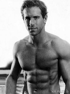 And I have gone totally gay over Ryan Reynolds. It's entirely possible that I am sick because I've gone totally gay over Ryan Reynolds, but I'm pretty sure it was the crappy dinner I ate. Ryan Reynolds Shirtless, Ryan Reynolds Age, Shirtless Men, Ryan Gosling Shirtless, Perfect People, Beautiful People, Perfect Man, Beautiful Boys, Hot Men