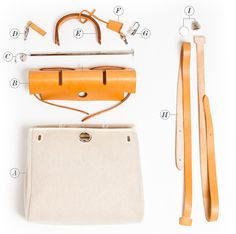 Hermes HerBag Assembly Parts